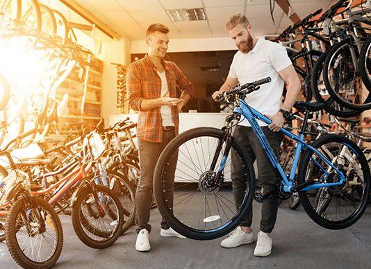 Gorska kolesa v trgovini