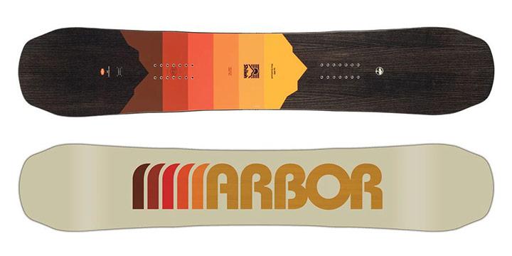 Snowboard Arbor Shiloh Camber